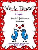 Verb Tense Stack-Ems (Valentine's Theme)