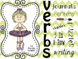 Verbs {Interactive Journal and Centers}