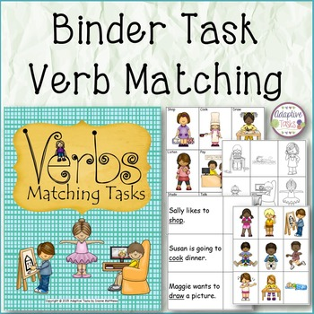 Verbs Matching Tasks
