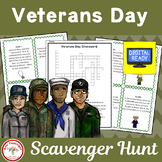 Veterans Day Scavenger Hunt