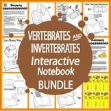 Vertebrates and Invertebrates Mini Unit-Interactive Notebo