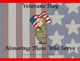 Veterans Day Activities for 2nd - 5th Grade