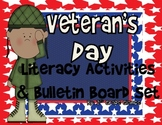 Veteran's Day Bulletin Board Dislpay/ Writing Craftivity/L