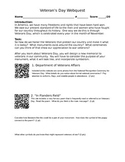 Veterans Day Webquest (with QR codes)