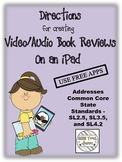 iPad Book Reviews - Create Easy Video/Audio Projects