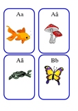 Vietnamese Alphabet Flash Cards