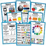 Elements of Art Posters Art Classroom Visuals Posters Bull