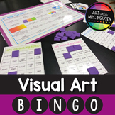 Visual Elementary Art Bingo