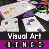Visual Elementary Art Bingo
