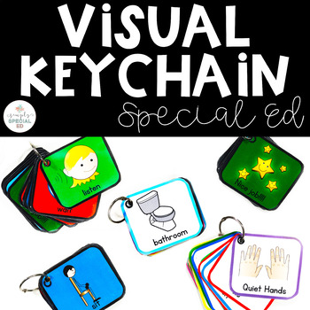 Visual Keychain for Students with Autism
