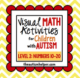 Visual Math Activities for Children with Autism {LEVEL 2: