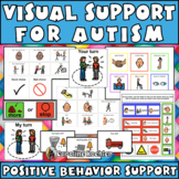 Visuals for Students with Autism, Aspergers:Behavior Suppo
