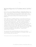 Vocab Tests Chaps 1-7 Harcourt Horizons United States Hist
