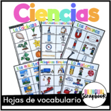 Vocabulario de Ciencias (Science Vocabulary in Spanish)