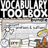Vocabulary Builder Toolbox - Prefixes, Suffixes, Root Word