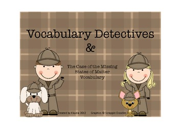 Vocabulary Detectives and the Case of the Missing States o