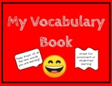 Vocabulary Fill-in student book (Primary grade)