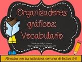 Vocabulary Graphic Organizers in Spanish ( Common Core Aligned )
