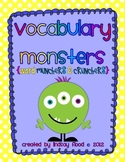 Vocabulary Monsters {Vocabulary Graphic Organizers}