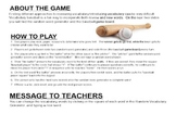 Vocabulary Practice Using Sports Games (SmartBoard Version)