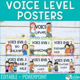 Voice Level Posters - Chevron