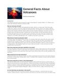 Volcanoes Article