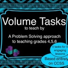 Volume Tasks for Problem-Based Lessons and Centers for Gra