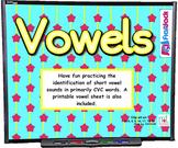 Vowel SMART BOARD Game