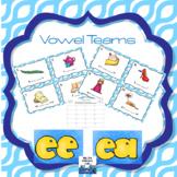 Vowel Teams Scoot {ee,ea}