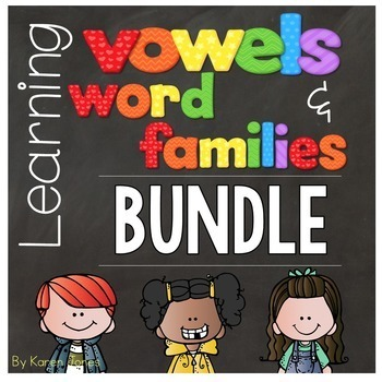 Vowels & Word Families {BUNDLE+}