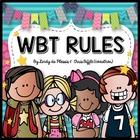 WBT Rules