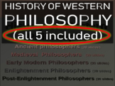 WESTERN PHILOSOPHY (ALL 5 PARTS) EPIC Overview of Western