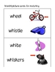 WH Digraph- Whales at the Wharf Games and Activities