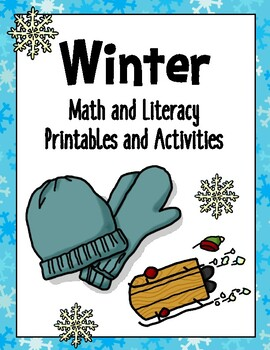 WINTER Activity Packet - NEW and IMPROVED!