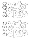 WINTER GAMES 2014 Winter Sports Reader