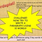 WORDSPLAT! - Get students to use key words and vocabulary