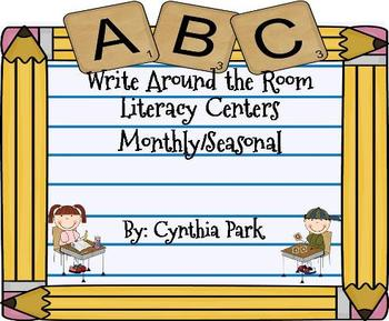 WRITE AROUND THE ROOM LITERACY CENTERS