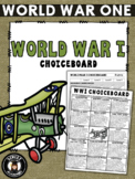 WW1 ChoiceBoard (+ Rubric)