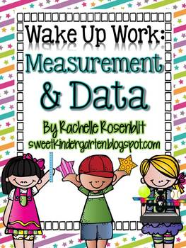 Wake Up Work: Measurement & Data {Common Core Aligned}