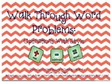 Walk through word problems as a class!!