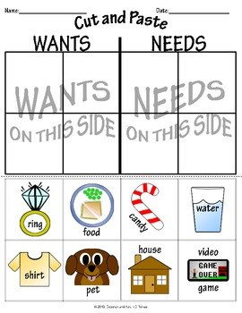 Worksheets Wants And Needs Worksheets wants and needs worksheets sharebrowse collection of sharebrowse