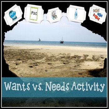 Wants vs. Needs Economics Activity