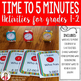 Watch Me Tell Time 2nd Grade Common Core Aligned