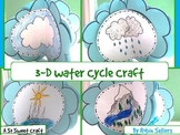 Water Cycle Craft: {3-D Water Cycle Craftivity}