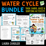 Water Cycle Task Cards Combo