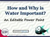 Water: How and Why Is It Important?