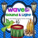 Waves: Sound and Light {Aligns with NGSS 1-PS4-1,2,3,4} {science}