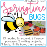 We Are Bugging Out {Reading Comprehension, Art, Writing, a