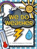 We Do Weather ~ Activities & Printables