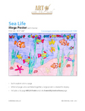"""We Get Along"" Sea Life MEGA Poster"